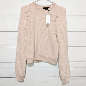 NWT Sanctuary Chenille Ribbed Pullover Sweater
